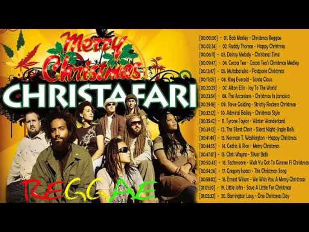 Reggae Christmas: Best Christmas Music Playlist 2018 - Reggae Christmas Songs Medley