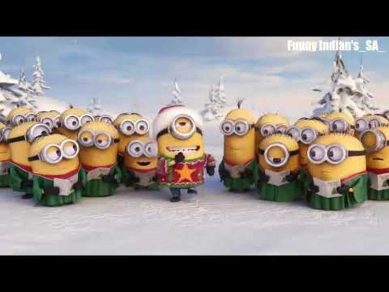 Christmas Songs for Kids By Minions forb( Desi Hindi )__ Jingle bells song(2017)