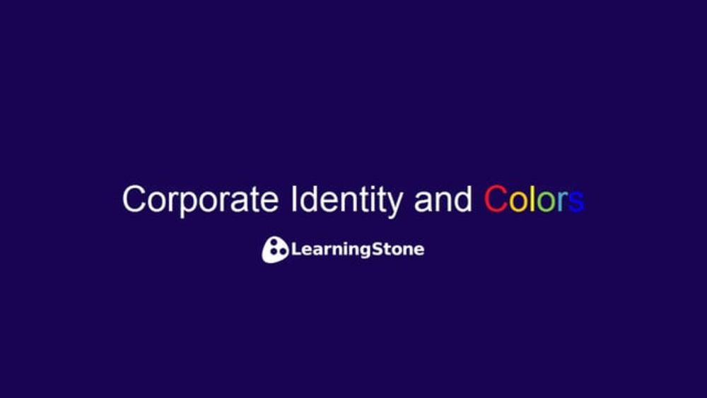Corporate Identity and Colors