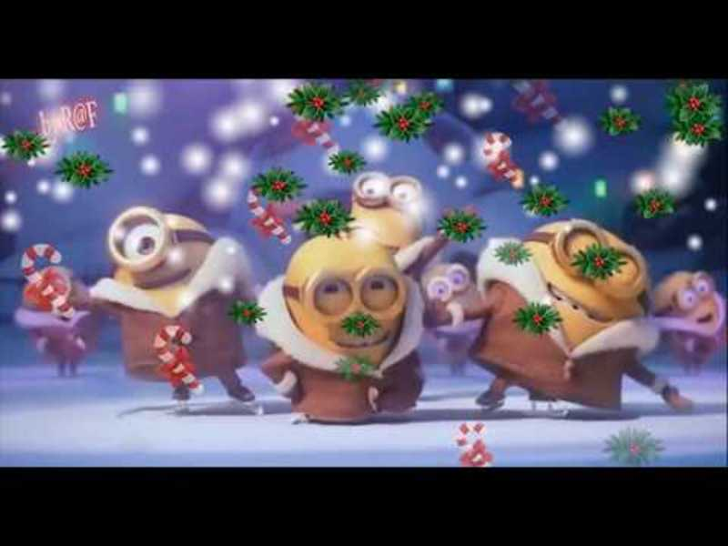 jingle bell- Minions For Christmas e Il Magico Natale -Il Menestrello Sognatore . R@F