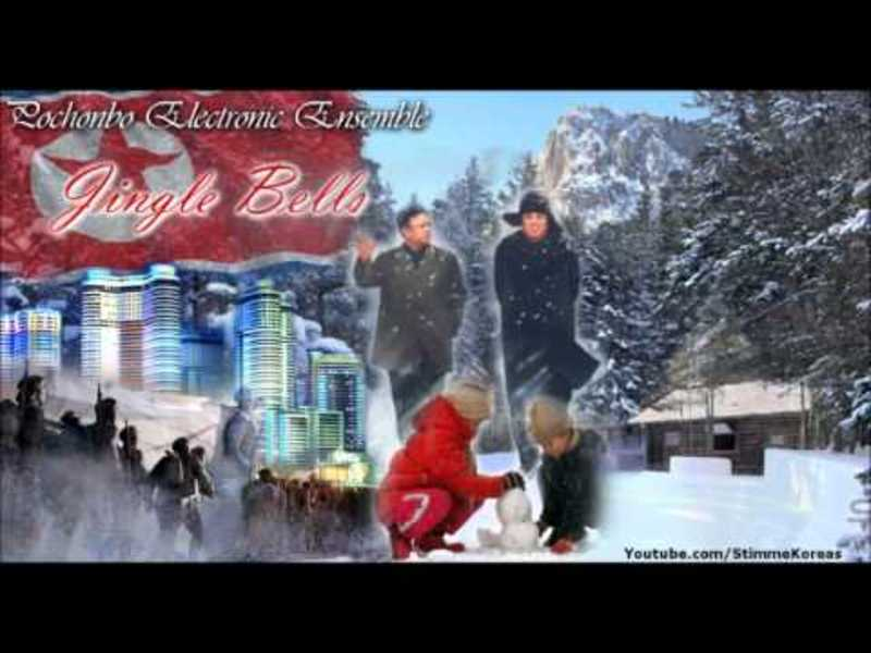 "North Korean version of ""Jingle Bells"" - Pochonbo Electronic Ensemble"